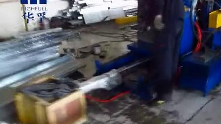 潍坊华孚冷弯机械——脚踏板成型设备   钢跳板成型设备 冷弯设备 冷弯机