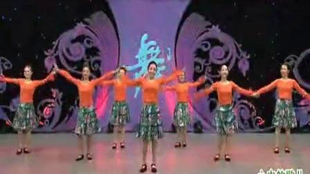 周思萍 广场舞  心中的歌儿献给金珠玛_标清