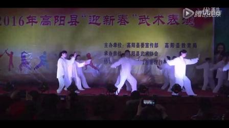 集体杨氏太极拳表演2016高阳县迎新春武术表演(1)_合并文件