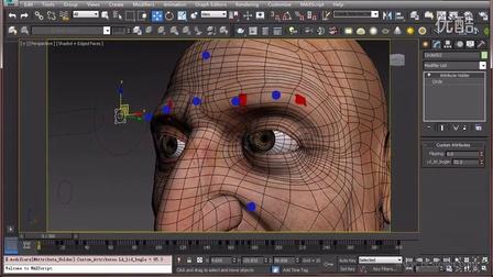 3ds Max表情动画高级绑定课程