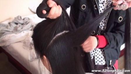 姑娘舍不得剪长发2