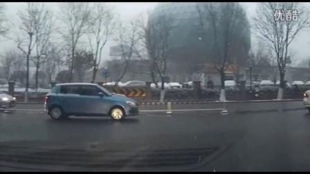 活着-记西安2016第一场雪之行车记录仪