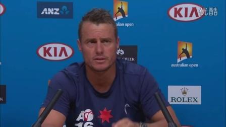 【赛前采访】2016 澳大利亚网球公开赛 - 休伊特