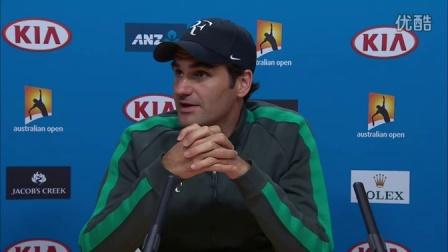 【赛前采访】2016 澳大利亚网球公开赛 - 费德勒