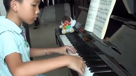 牧童短笛 中国钢琴曲 小谦