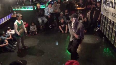 DANCE@LIVE 2016 HIPHOP KYUSHU B8 <EMI vs Osaam>