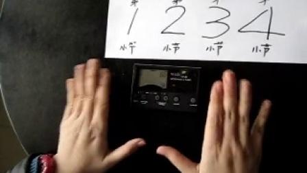 节奏练习本【2】p54-no.1