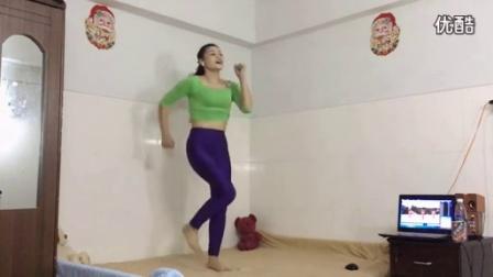 优酷视频平台 - 广告分成青青广场舞 《DJ最美最美》丰胸瘦腹健身操原创__标清