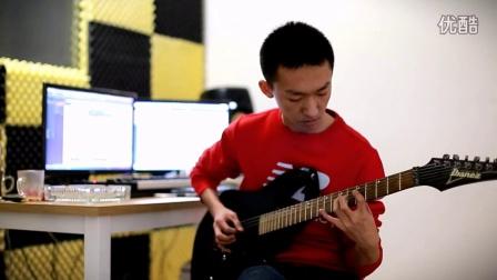 鸡西吉他:市一中学员孙梓铭 电吉他练习曲  鸡西玩乐吉他社