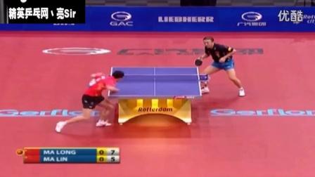 国际乒联集锦:世界第一马龙_