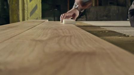 德国西陶夫STAUF 100%德国木地板安装方式 满铺刮胶视频