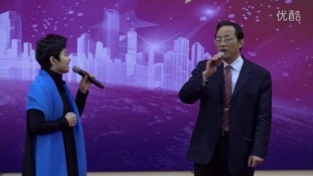 我和书法学生董文华参加北京三建2015年会