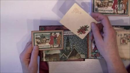 G45 A Christmas Carol 6X4 Pocket Mini Album