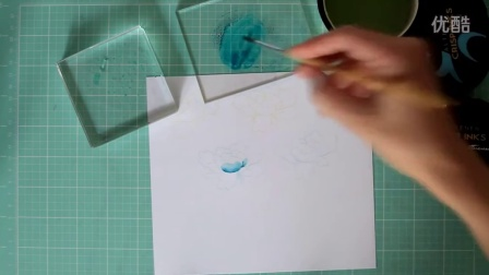 Coloring and Ink Smooshing with Altenew Crisp Inks