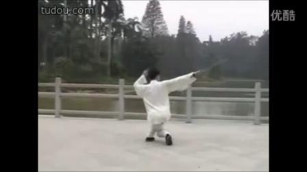 49式陈式太极剑-王二平-雪山情[古筝曲]