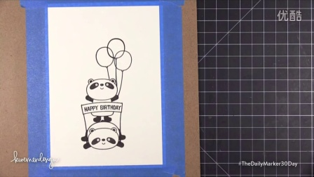 Happy Birthday Pandas! 30 Day Coloring Challenge Blog Hop