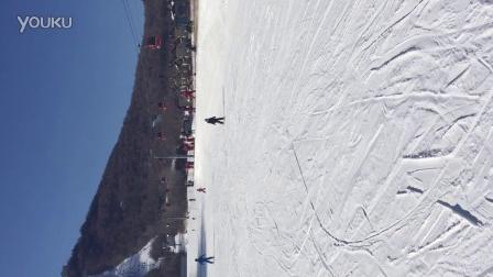 宝贝滑雪初体验