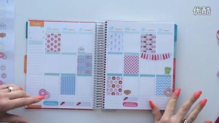 Plan with me - Donut style + free sticker - Giada Giungi