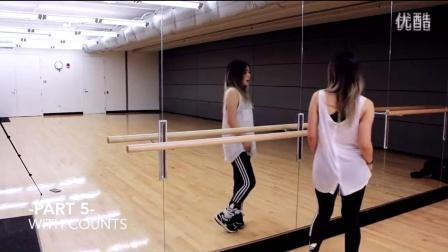【orange】GFRIEND - Rough舞蹈分解动作教学 镜面分解视频