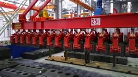 电磁堆垛起重机试吊
