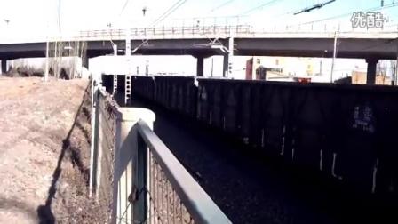 大同火车迷延时摄影作品---Hxd1会车K731