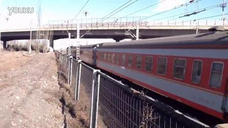 Hxd3c7012牵引2672出怀仁火车站