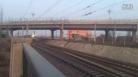 HXD3C7009大同地铁牵引2671次进怀仁站