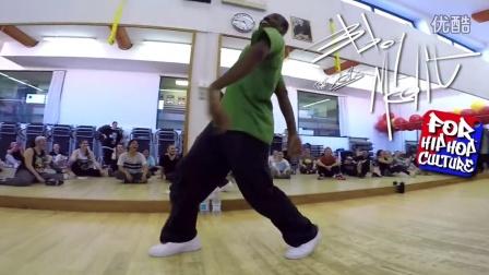 Henry Link EFC - Hip Hop Speech - WorkShop - Milan, Italy
