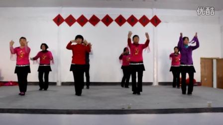 庄源村广场舞东方红
