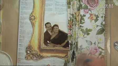 You & Me- How to make a Mixed Media Scrapbooking layout