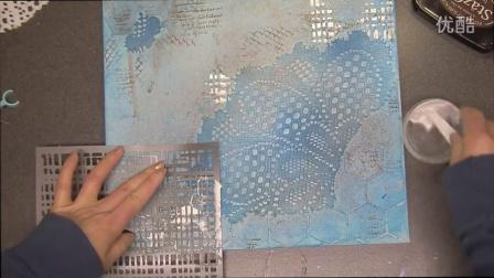 Mix Media Canvas - 2Crafty Chipboards