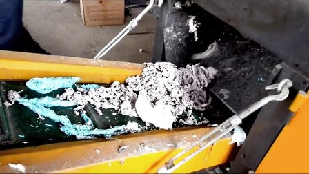 湿薄膜初次破碎 薄膜粉碎设备 农膜切断设备