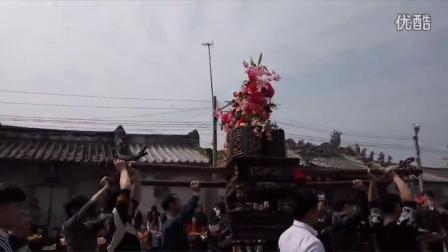 潮汕人的游神,潮州,彩塘 东里正月十三