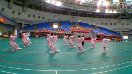 2016三亚武术节传统杨氏太极拳大东海队团体比赛