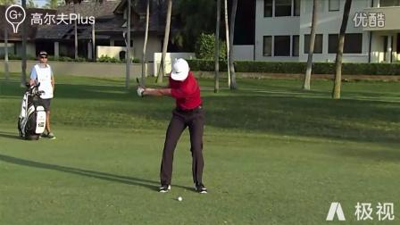 《高尔夫Plus》李昊桐铁杆 球道木慢镜分析
