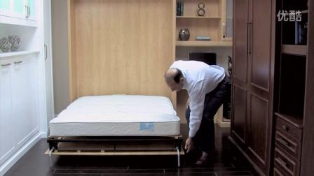 隐形床Murphybedlifestyles Wall Bed Hydraulic System-HD