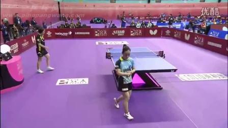 2016吉隆坡世乒赛 女团 分组赛 日本vs泰国 第二盘 石川佳纯vs高王 乒乓球比赛视频 完整版