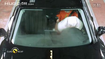 欧洲NCAP 奥迪A4 碰撞安全测试