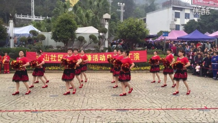 桂林西门蓝天舞蹈队广场舞《祖国你好》