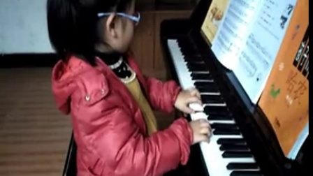 2016年2月24日小鹭鹭弹琴录像5