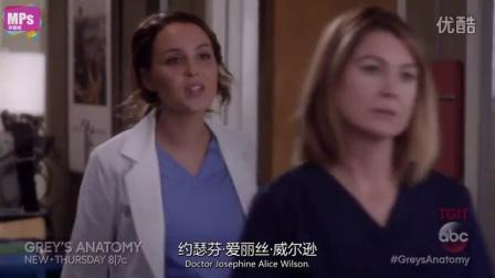 《实习医生格蕾》第12季第14集预告先睹为快