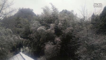 贵州省开阳县龙岗镇2016下雪了
