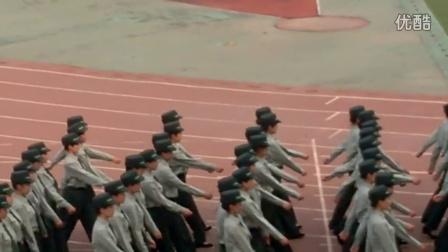 沈航民航学院军训