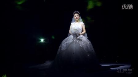 皇家维莎婚纱 携手红先生婚礼巨献梦幻裸眼3D全息婚礼