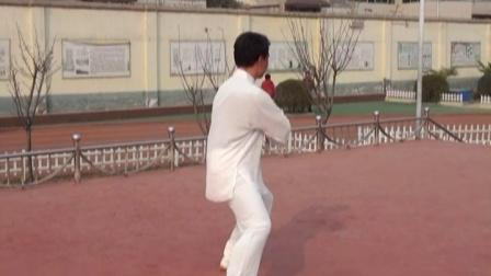 秀珠小学李占朝老师大课间太极拳第十一式