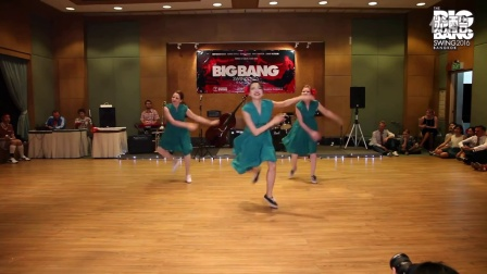 Big Bang Swing 2016 - Performance by Ooh La La! Young Ji, Auralie and Stephanie!