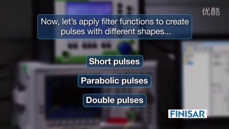 Finisar Demonstrates Laser Pulse Shaping in a WaveShaper