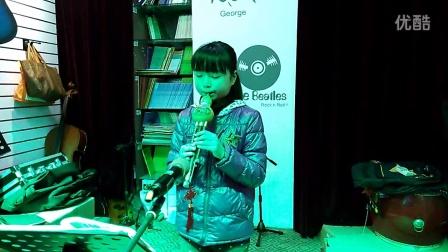 开化佳音琴行葫芦丝余江悦小朋友演奏的《阿佤人民唱新歌》