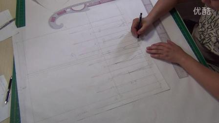 7裙原型构成