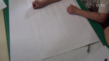 9裙原型构成